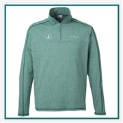 Columbia Men's Tenino Hills II Half-Zip Pullover with Custom Embroidery, Columbia Custom Fleece Pullovers, Columbia Custom Logo Gear