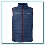 Columbia Men's Powder Lite Vest Custom Embroidered