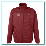 Columbia Men's Birch Woods II Full-Zip Fleece Jacket with Custom Embroidery, Columbia Custom Fleece Jackets, Columbia Custom Logo Gear