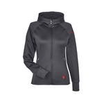 Spyder Women's Hayer Full-Zip Z Hooded Fleece Jacket 187331 with Custom Embroidery, Spyder Custom Fleece Jackets, Spyder Custom Logo Gear