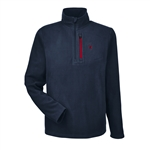 Spyder M Transport Quarter-Zip Fleece Pullover Embroidered Logo