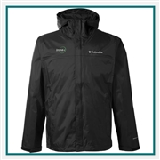 Columbia Men's Watertight II Jacket with Custom Embroidery, Columbia Custom Waterproof Jackets, Columbia Custom Logo Gear