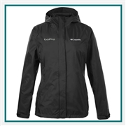 Columbia Ladies' Arcadia II Jacket with Custom Embroidery, Columbia Custom Waterproof Jackets, Columbia Custom Logo Gear