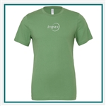 Bella + Canvas Unisex Jersey Short Sleeve T-Shirt with Custom Embroidery Bella + Canvas Corporate Apparel, Bella + Canvas Unisex T-Shirts
