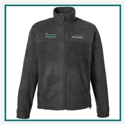 Columbia Men's Steens Mountain Full-Zip Fleece Jacket with Custom Embroidery, Columbia Custom Fleece Jackets, Columbia Custom Logo Gear