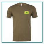 Bella + Canvas Unisex Triblend Short-Sleeve T-Shirt 3413C Custom Logo, Custom Logo Bella + Canvas T-Shirts, Bella 3413C