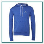 Bella + Canvas Unisex Poly-Cotton Fleece Pullover Hoodie 3719 - Embroidered, Custom Embroidered Bella Hoodies, Custom Logo Hoodies