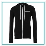 Bella Canvas Unisex Cotton Fleece Full-Zip Custom