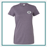 Bella + Canvas Ladies' The Favorite T-Shirt - Embroidered, Custom Embroidered Bella T shirts, Custom Logo T Shirts