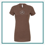 Bella + Canvas Ladies' The Favorite T-Shirt 6004 Custom Logo, Custom Logo Bella + Canvas T-Shirts, Bella 6004