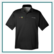 Columbia Cast Polo Custom Logo