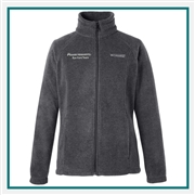 Columbia Women's Benton Springs Full-Zip Fleece Jacket with Custom Embroidery, Columbia Custom Fleece Jackets, Columbia Custom Logo Gear