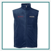 Columbia Men's Steens Mountain Vest with Custom Embroidery, Columbia Custom Vests, Columbia Custom Logo Gear