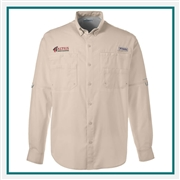 Columbia Men's Tamiami II Long-Sleeve Shirt with Custom Embroidery, Columbia Custom Shirts, Columbia Custom Logo Gear