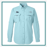 Columbia Ladies Long-Sleeve Shirt with Custom Embroidery, Columbia Custom Shirts, Columbia Custom Logo Gear