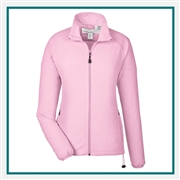 North End Ladies Microfleece Unlined Jacket with Custom Embroidery