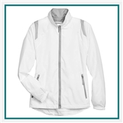 North End Ladies Lightweight Color-Block Jacket with Custom Embroidery