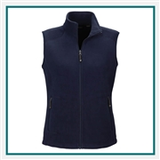 North End Ladies Voyage Fleece Vest with Custom Embroidery