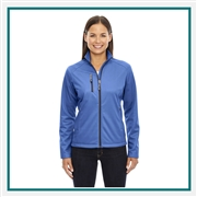 North End Ladies Trace Printed Fleece Jacket with Custom Embroidery, North End Corporate & Group Sales