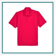 UltraClub Men's Tall Cool & Dry Mesh Piqué Polo with Custom Embroidery, Harriton 8210T Custom Embroidered, Harriton Corporate Apparel