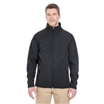 UltraClub Men's Soft Shell Jacket with Custom Embroidery, Ultra Club 8265 Custom Embroidered, Ultra Club Corporate Apparel