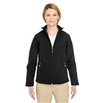 UltraClub Ladies' Soft Shell Jacket Custom Embroidery