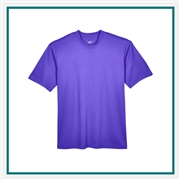 UltraClub Men's Cool & Dry Sport T-Shirt Custom Embroidery