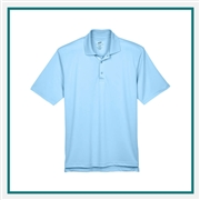 UltraClub Men's Tall Cool & Dry Sport Polo with Custom Embroidery, Harriton 8405T Custom Embroidered, Harriton Corporate Apparel
