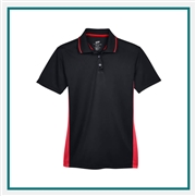 UltraClub Ladies' Cool & Dry Sport Two-Tone Polo with Custom Embroidery, Harriton 8406L Custom Embroidered, Harriton Corporate Apparel