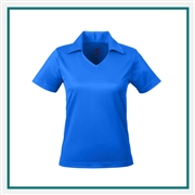 UltraClub Ladies' Cool & Dry Sport Polo with Custom Embroidery, Harriton 8407 Custom Embroidered, Harriton Corporate Apparel