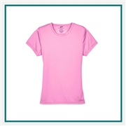 UltraClub Ladies' Cool & Dry Sport Performance Interlock T-Shirt Custom Embroidery