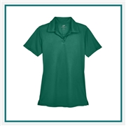 UltraClub Ladies' Cool & Dry Sport Performance Interlock Polo with Custom Embroidery, Harriton 8425L Custom Embroidered, Harriton Corporate Apparel