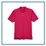 UltraClub Men's Cool & Dry Stain-Release Performance Polo with Custom Embroidery, Harriton 8445 Custom Embroidered, Harriton Corporate Apparel