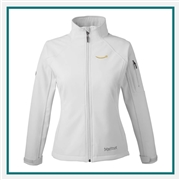 Marmot Women's Gravity Full Zip Jacket with Custom Embroidery, Marmot Custom Softshell Jackets, Marmot Custom Logo Gear