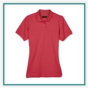UltraClub Ladies' Cool & Dry Classic Piqué Polo with Custom Embroidery, Harriton 8530 Custom Embroidered, Harriton Corporate Apparel