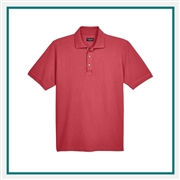 UltraClub Men's Cool & Dry Classic Piqué Polo with Custom Embroidery, Harriton 8535 Custom Embroidered, Harriton Corporate Apparel