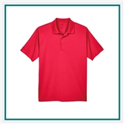 UltraClub Men's Cool & Dry 8 Star Elite Performance Interlock Polo with Custom Embroidery, Harriton 8610 Custom Embroidered, Harriton Corporate Apparel