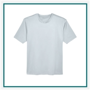 UltraClub Men's Cool & Dry Basic Performance Interlock T-Shirt Custom Embroidery