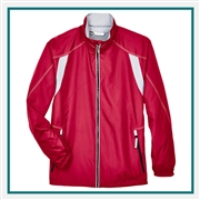 North End Mens Endurance Lightweight Color-Block Jacket with Custom Embroidery