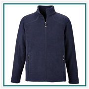 North End Mens Voyage Fleece Jacket with Custom Embroidery