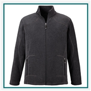 North End Mens Tall Voyage Fleece Jacket with Custom Embroidery
