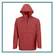 North End Mens Excursion Intrepid Lightweight Anorak with Custom Embroidery