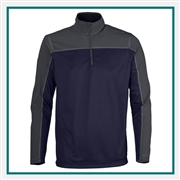 North End Mens Excursion Circuit Performance Half-Zip Pullover with Custom Embroidery, Custom Embroidered Pullover, Embroidered Apparel, Custom Logo Pullovers