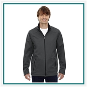 North End Splice 3 Layer Light Bonded Jacket Company Logo