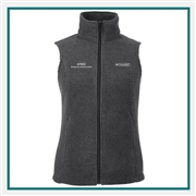 Columbia Women's Benton Spring Vest with Custom Embroidery, Columbia Custom Vests, Columbia Custom Logo Gear