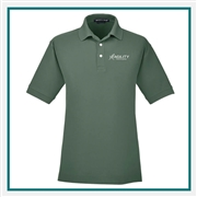 Devon & Jones Men's Pima Piqué Short-Sleeve Polo with Custom Embroidery, Devon & Jones D100 Custom Embroidered, Devon & Jones Corporate Apparel
