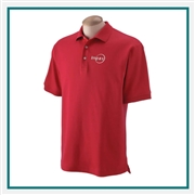 Devon & Jones Men's Solid Perfect Pima Interlock Polo with Custom Embroidery, Devon & Jones D140S Custom Embroidered, Devon & Jones Corporate Apparel