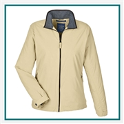 Devon & Jones Ladies Three-Season Classic Jacket with Custom Embroidery, Devon & Jones D700W Custom Embroidered, Devon & Jones Corporate Apparel