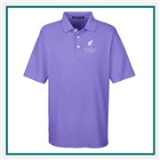 Devon & Jones Men's DRYTEC20 Performance Polo with Custom Embroidery, Devon & Jones DG150 Custom Embroidered, Devon & Jones Corporate Apparel
