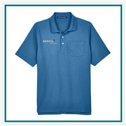 Devon & Jones Men's DRYTEC20 Performance Pocket Polo with Custom Embroidery, Devon & Jones DG150P Custom Embroidered, Devon & Jones Corporate Apparel